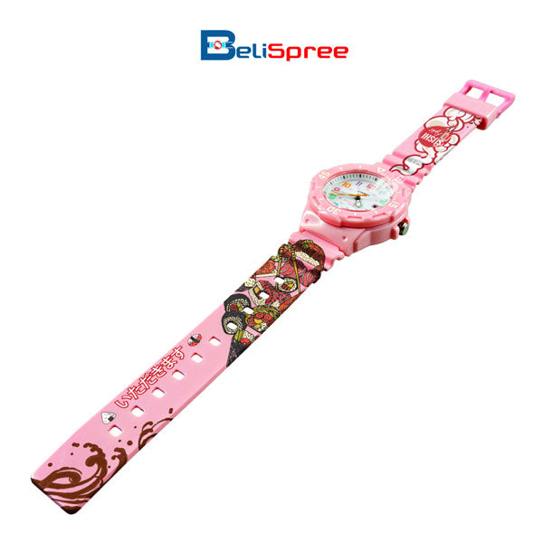 Casio LRW-200H Sushi Fight Custom Design Japan Edition Resin Watch