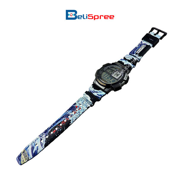 Casio AE-1000W Wave of Kanagawa Custom Design Japan Edition Resin Watch