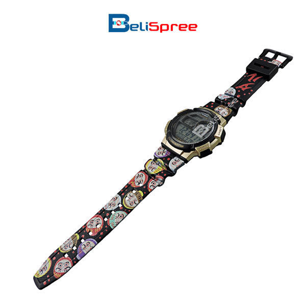 Casio AE-1000W Daruma Custom Design Japan Edition Resin Watch