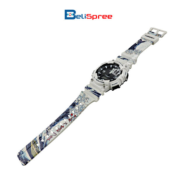 Casio AQ-S810W Wave of Kanagawa Custom Design Japan Edition Resin Watch