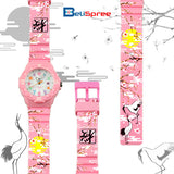 Casio LRW-200H Sakura 2 Custom Design Japan Edition Resin Watch