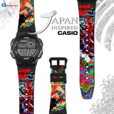 Casio AE-1000W Samurai II Custom Design Japan Edition Resin Watch