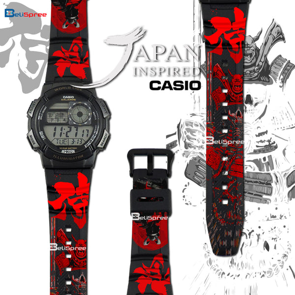 Casio AE-1000W Samurai Custom Design Japan Edition Resin Watch