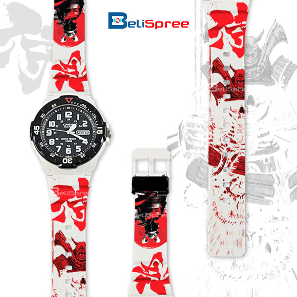 Casio MRW-200H Samurai Custom Design Japan Edition Resin Watch