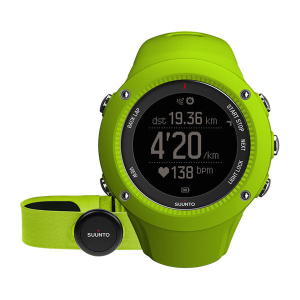 Suunto Ambit3 Run Lime (HR) Watch