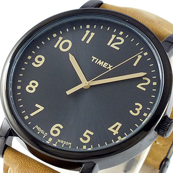 Timex T2N677 Originals Oversized Leather Watch