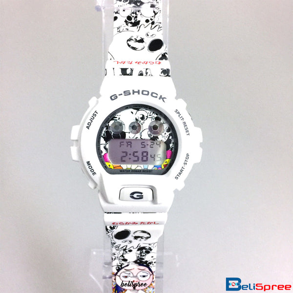 Casio G-Shock DW-6900 Takashi Murakami Custom Printed Assembled Resin Watch