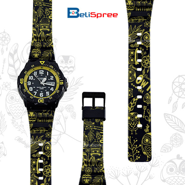 Casio MRW-200H The Bird of Wisdom Custom Design Owl Series Japan Edition Resin Watch