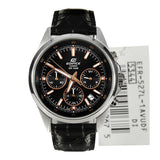 Casio Edifice EFR-527L-1AV Leather Watch