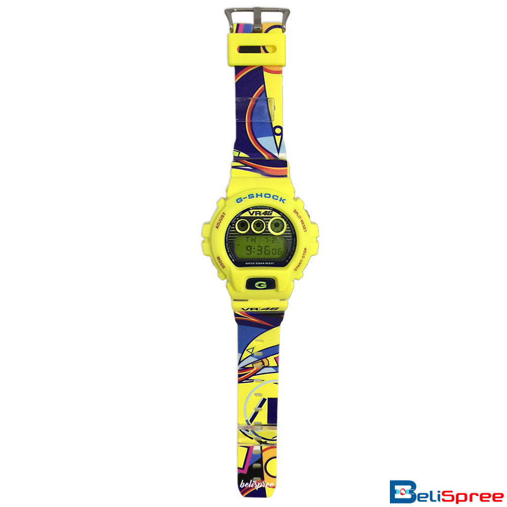 Casio G-Shock DW-6900 VR46 Custom Printed Assembled Resin Watch