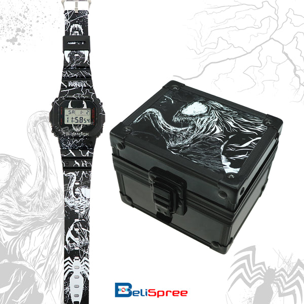 Casio G-Shock DW-5600 Venom Spider Custom Design Special Edition Resin Watch
