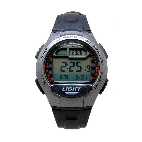 Casio W-734-1AV Resin Watch