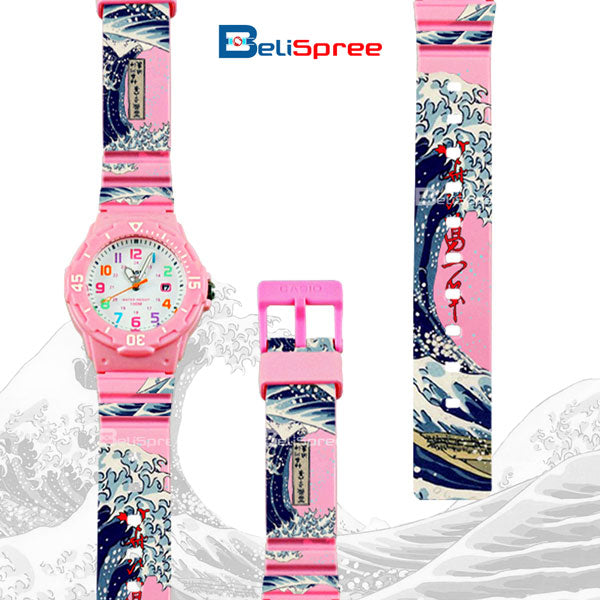 Casio LRW-200H Wave of Kanagawa Custom Design Japan Edition Resin Watch