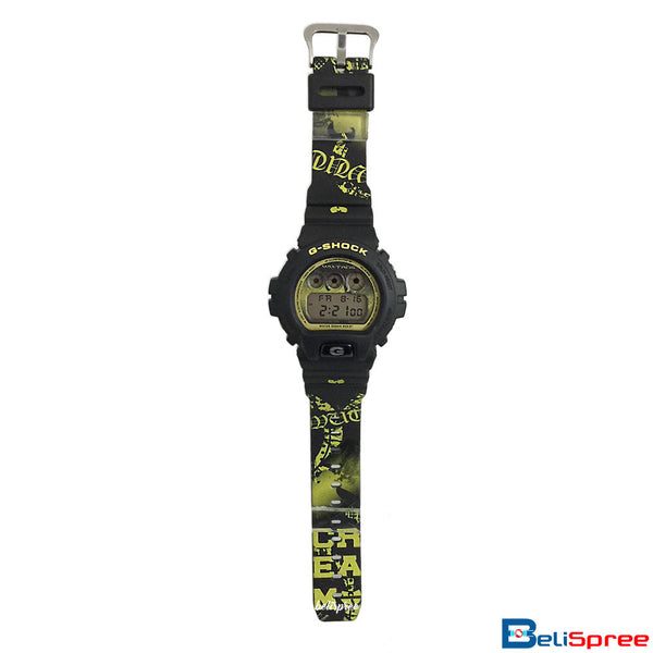 Casio G-Shock DW-6900 Wutang Custom Printed Assembled Resin Watch