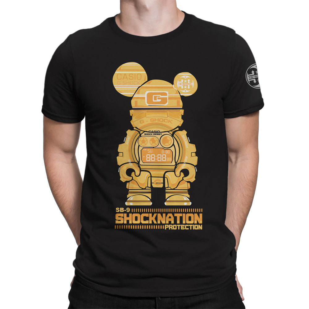 G-Shock Collaboration BearHero SB-9 Men's T-Shirt