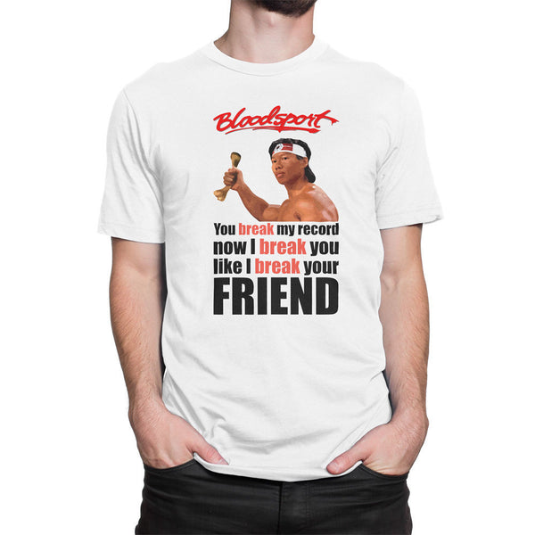 Bloodsport Chongli Quote Men's T-Shirt