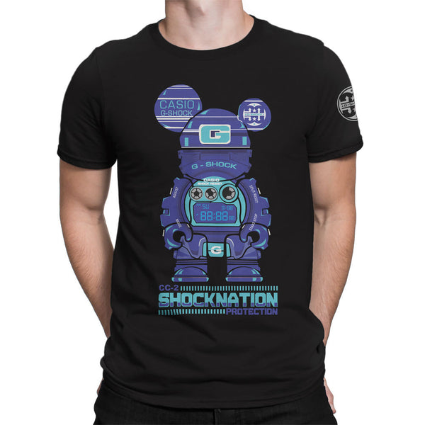 G-Shock Collaboration BearHero CC-2 Men's T-Shirt