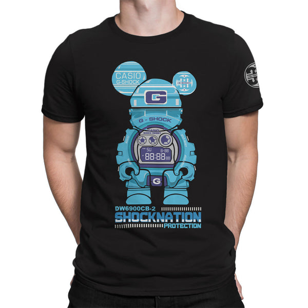 G-Shock Collaboration BearHero CB-2 Men's T-Shirt