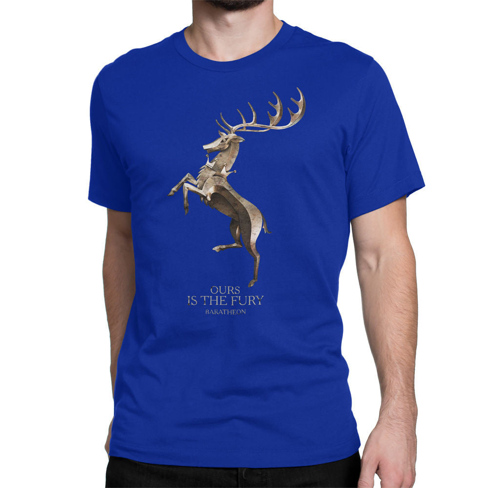 Game of Thrones Baratheon Fury Gold Men's T-Shirt