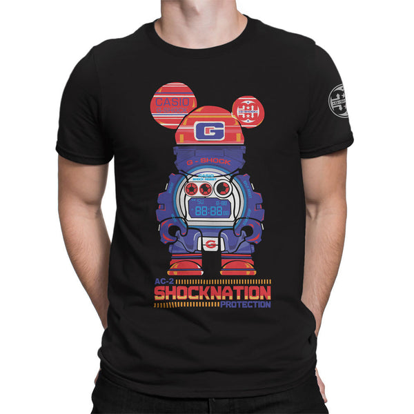 G-Shock Collaboration BearHero AC-2 JDT Men's T-Shirt