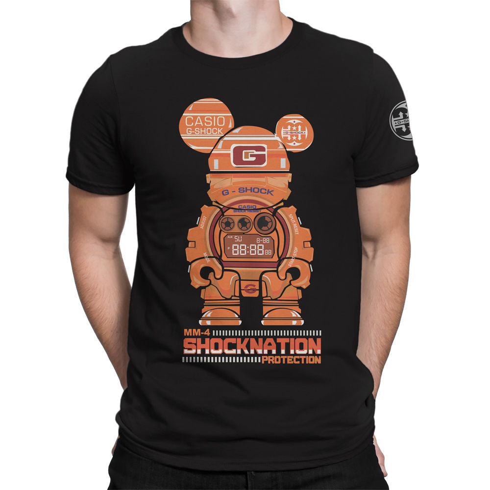 G-Shock Collaboration BearHero  MM-4 Men's T-Shirt