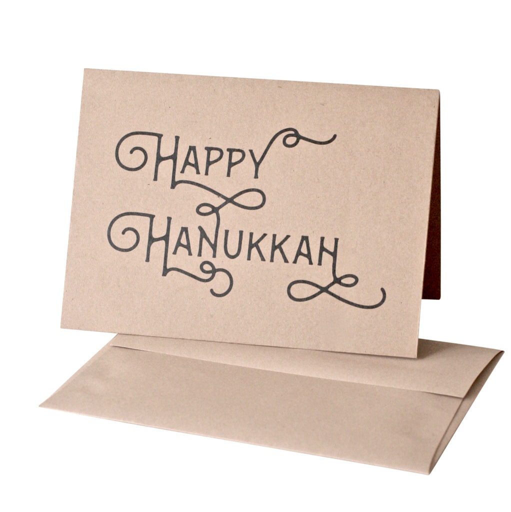 """Happy Hanukkah"" Greeting Card"