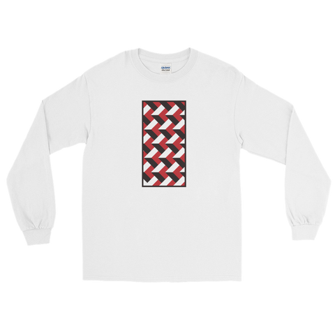Third Dimension Long Sleeve Graphic T-Shirt