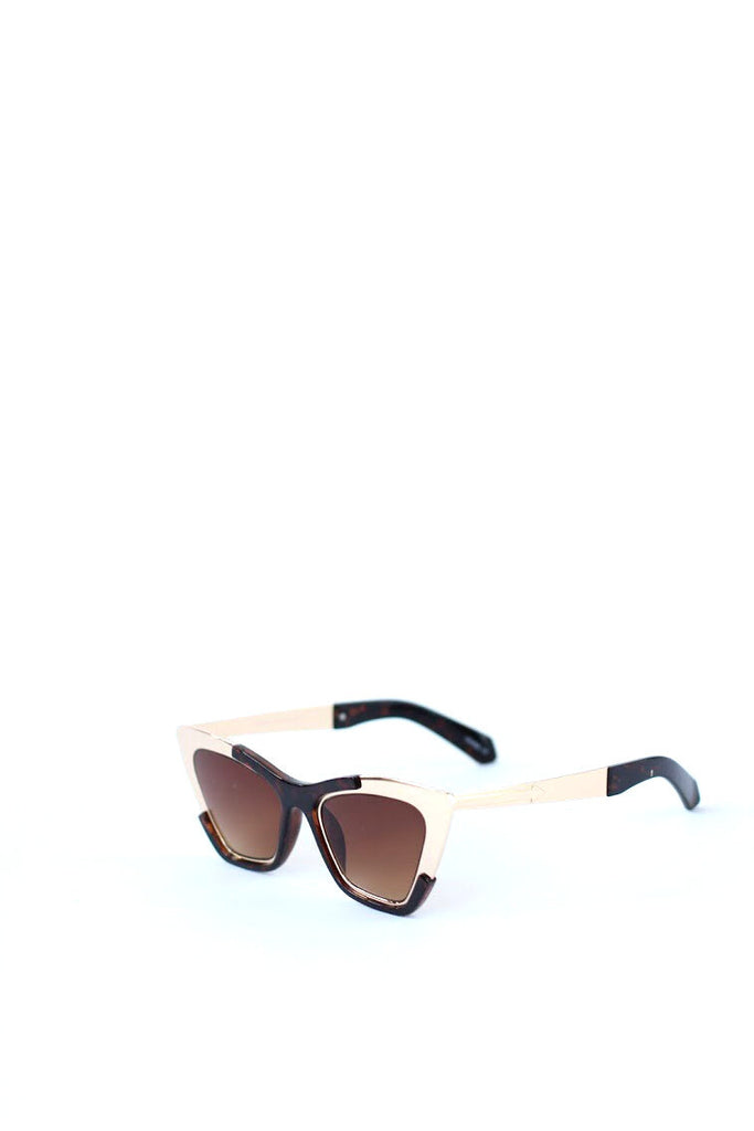 Gold Tip Cat Eye Sunnies
