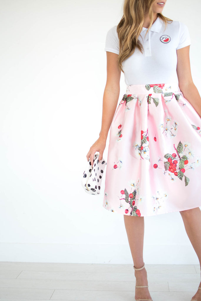 Cherry Blossom Skirt