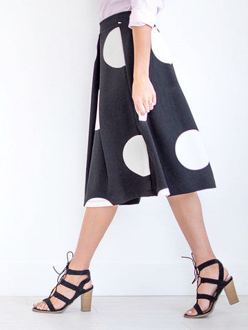 Cafe Polka Dot Skirt