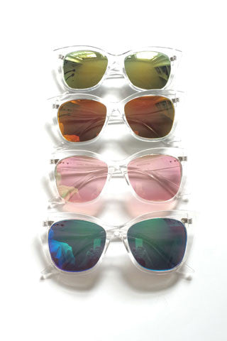 Clear & Cat Eye Sunnies