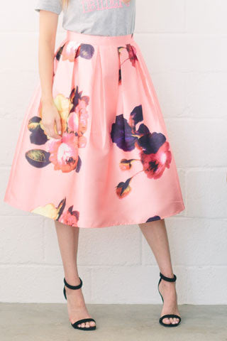 Coming Up Roses Skirt
