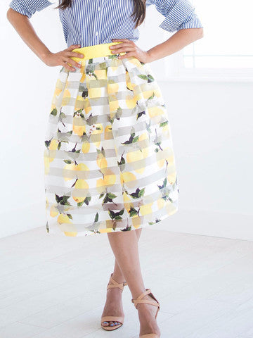 Fresh Lemonade Skirt