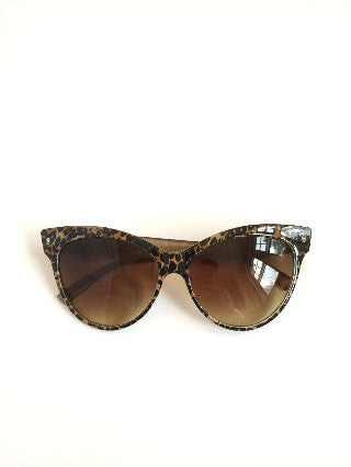 CLASSIC SUNGLASSES - BROWN