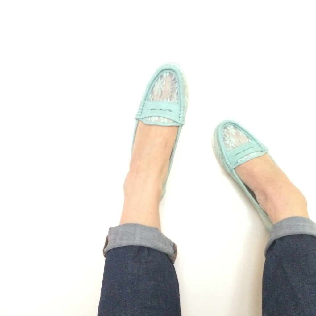 Mint & Lace Loafers
