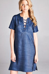 Lace Up Favorite Dress