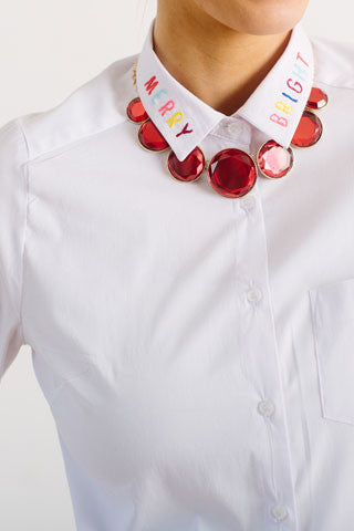 Merry & Bright Button Down