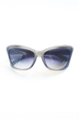 Mod Sunglasses - Grey Stripe