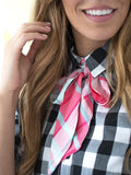 Summer Plaid Scarf
