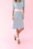 Je T'aime Swing Dress - Grey