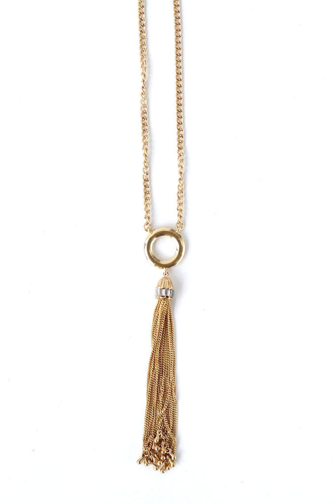 Tassel in Tribeca Necklace