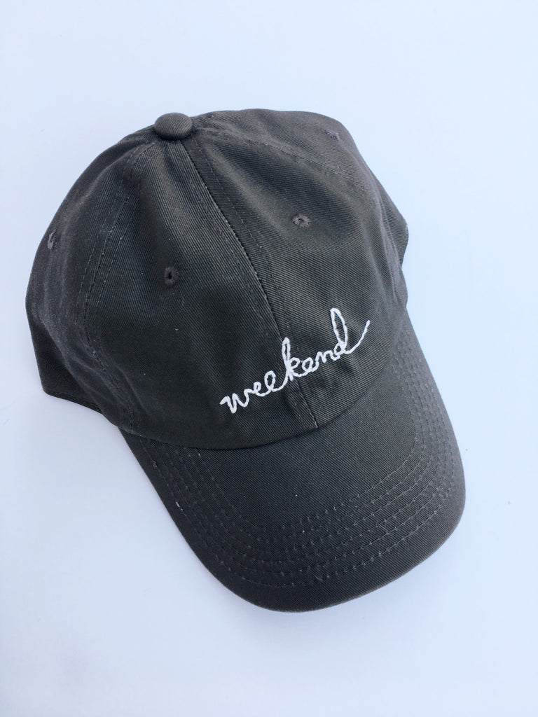 Signature Weekend Cap - Vintage Olive