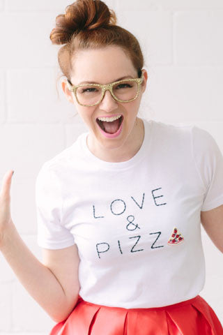 Love & Pizza Tee