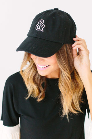 Signature & Cap - Black