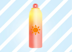 Aerosol Spray Sunscreen