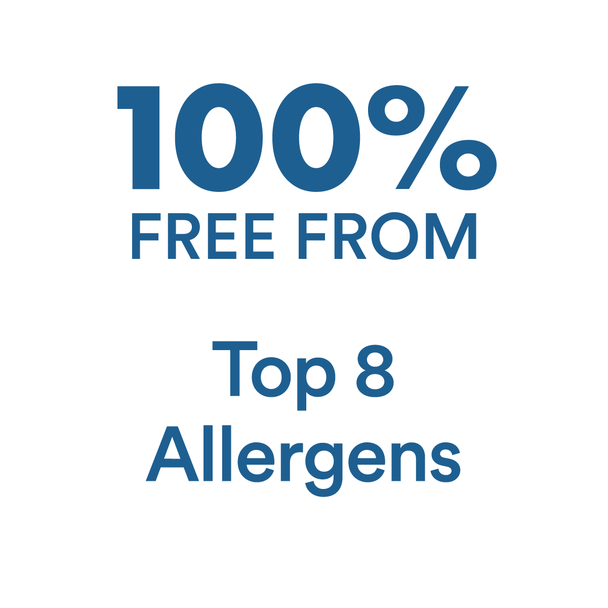 100% Free From Allergens