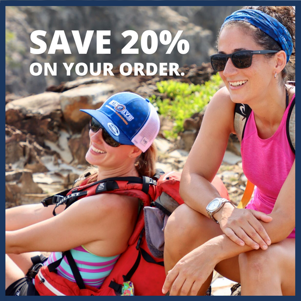 Save 20% on your order