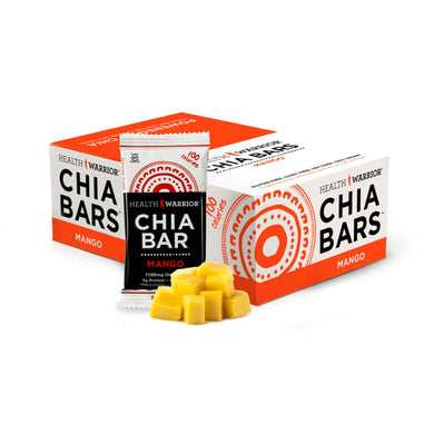 Health Warrior Chia Bar Mango 0.88oz (15 Pack)