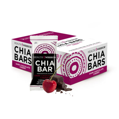 Health Warrior Chia Bar Drk Choc Cherry 0.88oz (15 Pack)