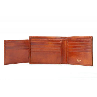 Bosca Old Leather Bifold With Card / I.D. Flap